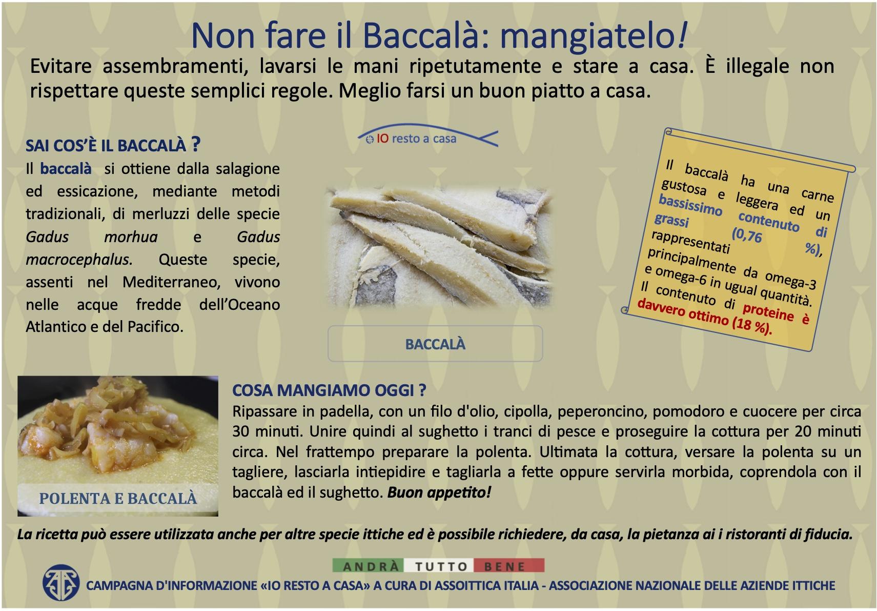 10 Campagna Assoittica per Coronavirus Baccala