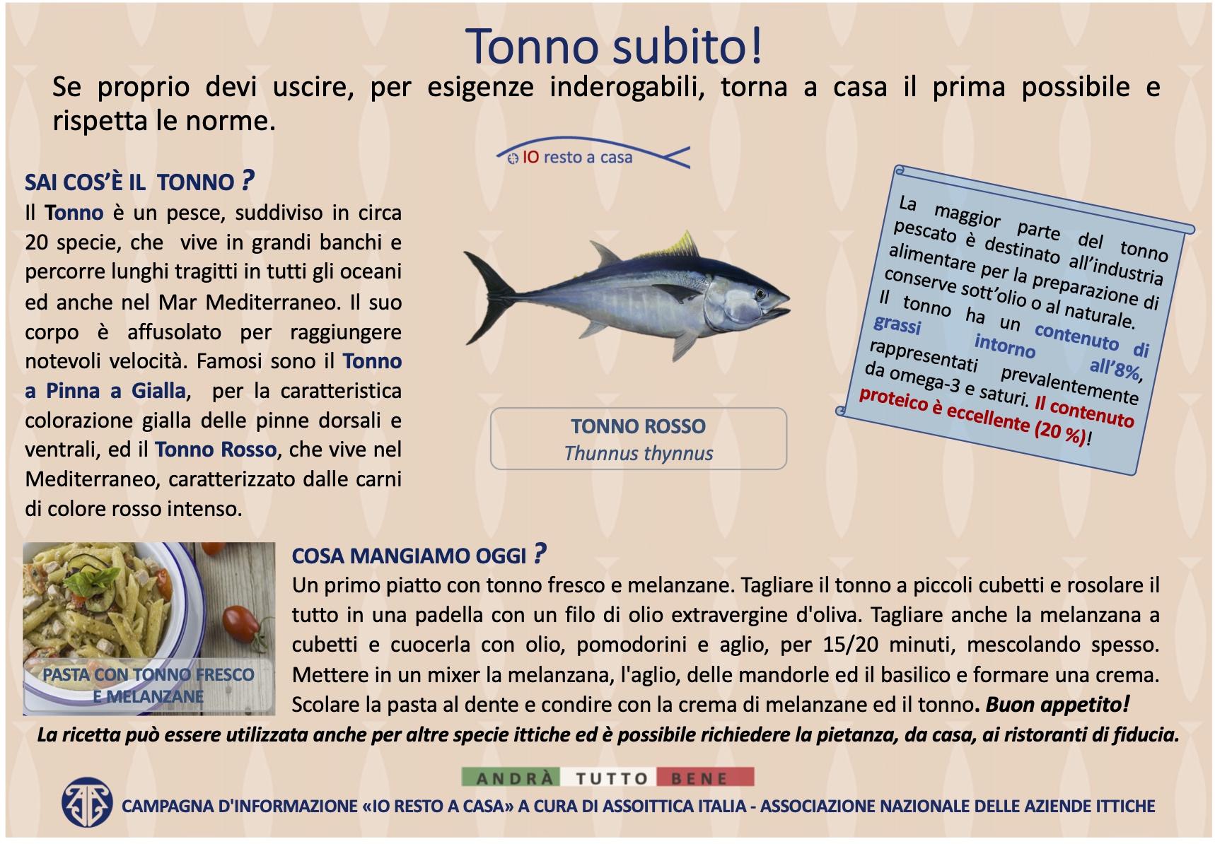 13 Campagna Assoittica per Coronavirus Tonno