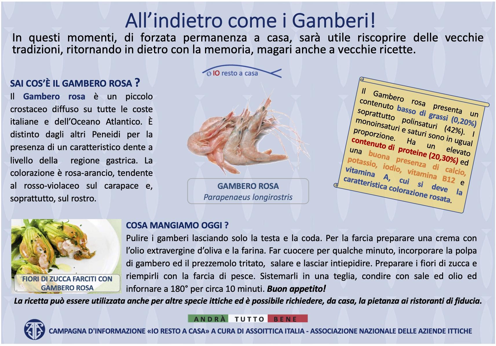 14 Campagna Assoittica per Coronavirus Gambero