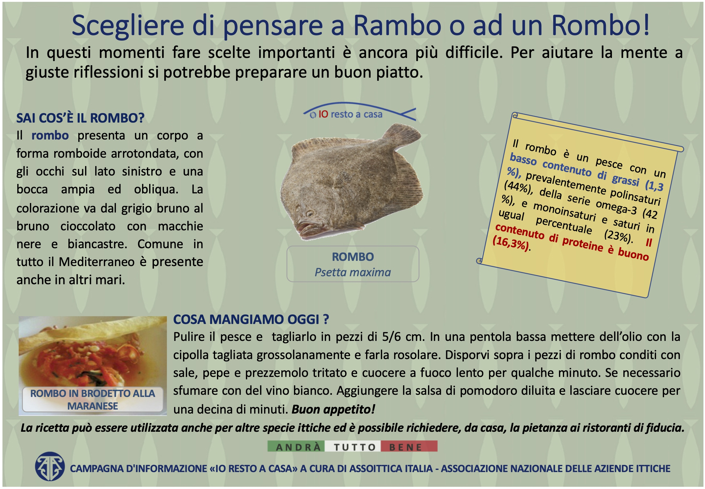 24 Campagna Assoittica per Coronavirus Rombo